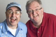 Danny Baker and Danny Kelly
