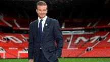 David Beckham, right, played alongside Ryan Giggs for 11 years at United
