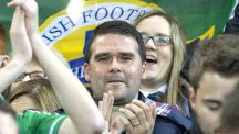 David Healy was a proud observer as Northern Ireland sealed their  qualification for Euro 2016