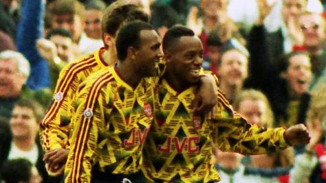 David Rocastle and Ian Wright