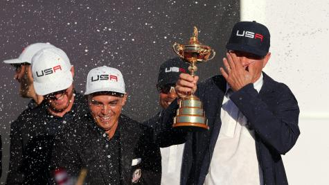Zach Johnson, Davis Love III named U.S. vice-captains for Ryder Cup