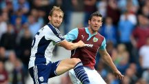 Craig Dawson, left, admits he only wanted a chance to prove himself at West Brom