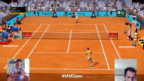 Andy Murray wins opener against Benoit Paire at virtual Madrid Open