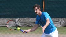Andy Murray, pictured, will face India's Somdev Devvarman in Shenzhen Open