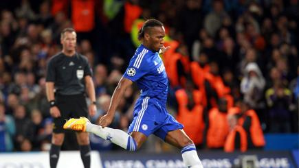 Didier Drogba on target in 6-0 win for Chelsea