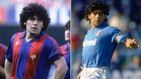 Napoli V Barcelona The First Ever Maradona Derby Bt Sport