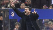 Atletico Madrid manager Diego Simeone led his team to a place in the Champions League final with an away goals semi-final success over Bayern Munich