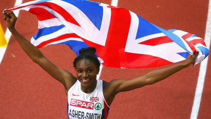 Dina Asher-Smith broke the British 100m record