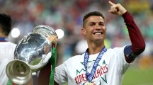 Disappointment turns to delight for Cristiano Ronaldo as Portugal lift title