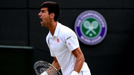 Novak Djokovic edged through to the quarter-finals