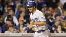 Andre Ethier gets home to help the Dodgers to victory (AP)
