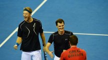 Dominic Inglot and Jamie Murray impressed at the Davis Cup