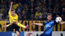 Arsenal overwhelmed by Borussia Dortmund at Signal Iduna Park.
