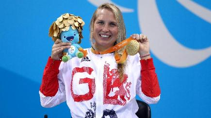 Gold medal is proof that Steph Millward has won her war