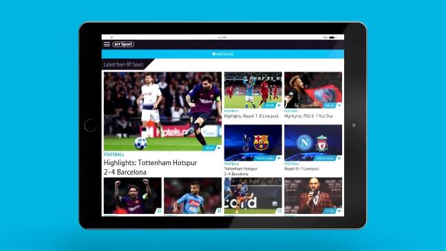 Bt Sport App Download The Ultimate Live Streaming And Tv
