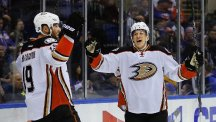 The Anaheim Ducks are into the play-offs (AP)