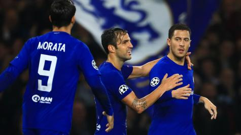 Eden Hazard can prove difference in FA Cup final – Cesc Fabregas