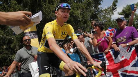 Froome confident of Tour de France victory