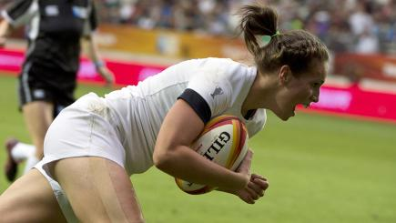 Emily Scarratt was a star performer for England in the World Cup final