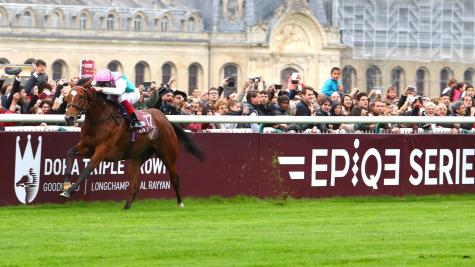 Prix de l'Arc de Triomphe: Frankie Dettori breaks record on Enable