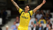 Mitchell Johnson will return for Australia against England on Sunday