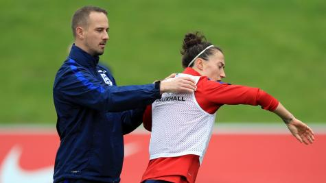 England boss Mark Sampson plays down training session brush-off from Lucy Bronze