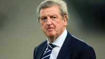 Roy Hodgson, pictured, confirmed he and his squad will return to England on Wednesday