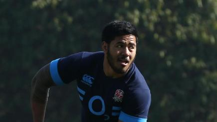 England's Manu Tuilagi is currently sidelined with a groin injury