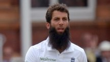 Moeen Ali, pictured, dismissed Tom Latham but other opportunities went begging for England