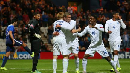 Wilson hits winner on England U21 debut