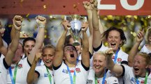 England women lifted the World Cup after beating Canada