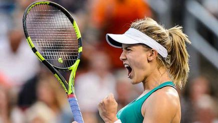 Wow! Bouchard wins point of the year contender