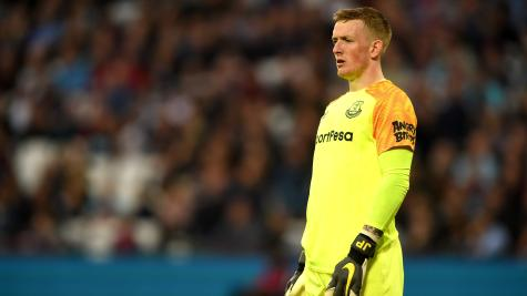 What sparked ugly scenes allegedly involving England goalkeeper Jordan Pickford