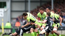 Exeter Chiefs enjoyed victory over Northampton Saints