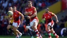 Olly Barkley has committed his future to London Welsh