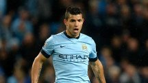 Sergio Aguero is expected to be fit to face Stoke
