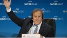 The Football Association has backed Michel Platini's bid to become FIFA president
