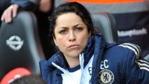 Footage has emerged of fans directing abuse at Chelsea club doctor Eva Carneiro