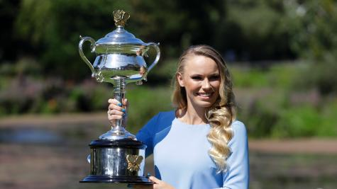 Father and fiance proud of Caroline Wozniacki's grand slam win