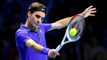 Roger Federer is through to his 11th final in Basle