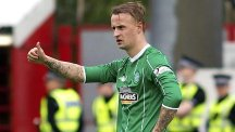 Celtic's Leigh Griffiths is one of five players to have withdrawn from the Scotland squad to face Gibraltar
