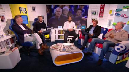 Fletch and Sav in BT Sport studio