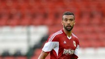 Liam Fontaine, pictured, has joined Hibs from Bristol City