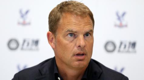 Frank de Boer named Crystal Palace coach