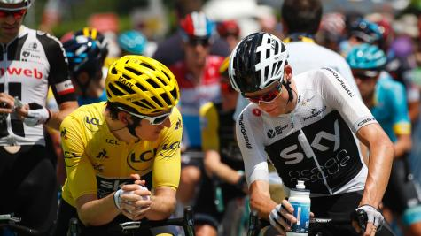 Froome is behind Thomas in more ways than one