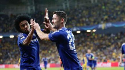Chelsea go top of Group G after big win