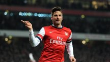 Olivier Giroud was left off Arsenal's squad list for the Champions League group stage