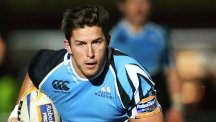 DTH van der Merwe put Glasgow Warriors on course for the Guinness Pro12 final with his late try