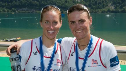 Glover and Stanning enjoyed success on their first international competition back together (Photo: Intersport Images)