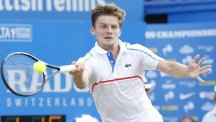 David Goffin is through to only his second ATP Tour final